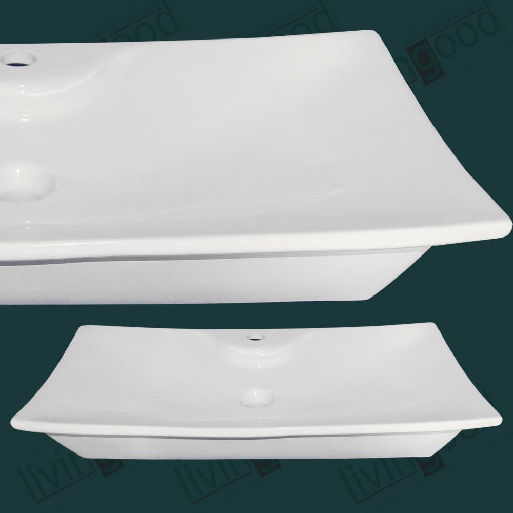 keramik design waschbecken waschschale waschtisch aufsatz neu cosima ebay. Black Bedroom Furniture Sets. Home Design Ideas