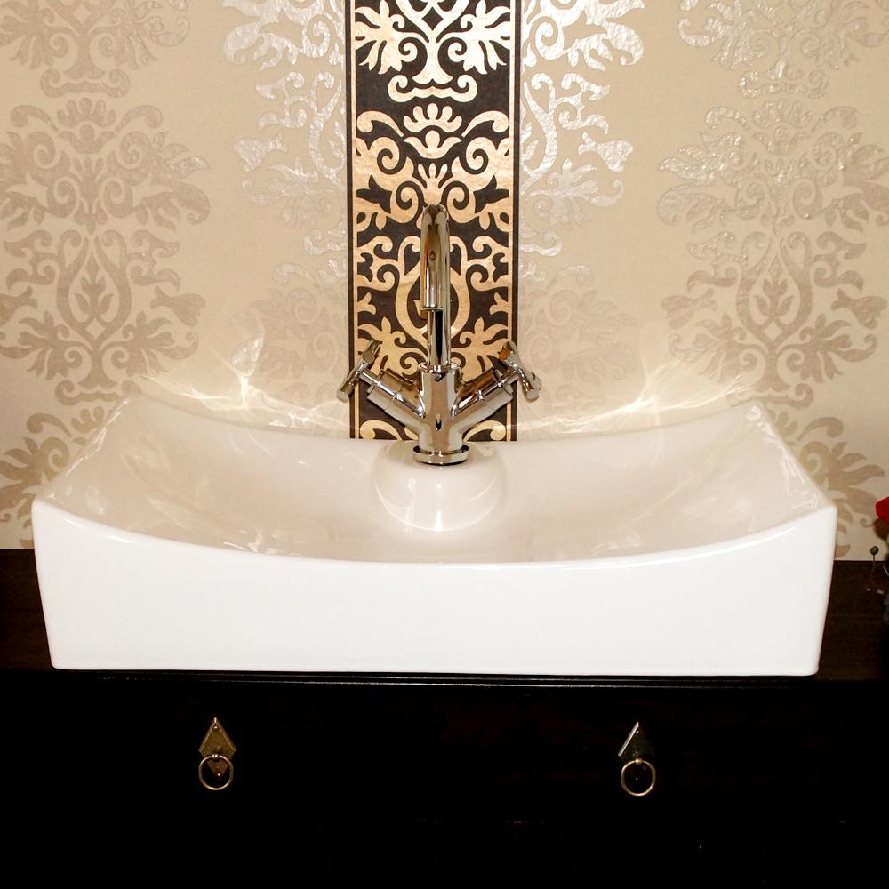 keramik design waschbecken waschschale waschtisch aufsatz neu tizian ebay. Black Bedroom Furniture Sets. Home Design Ideas