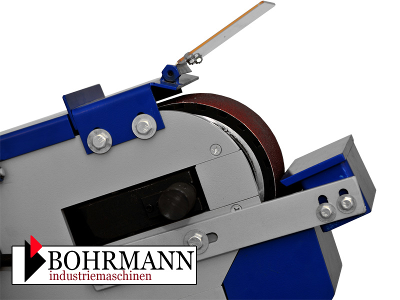 bandschleifer schleifbock bandschleifmaschine spitzenmodell profi 400v bohrmann ebay. Black Bedroom Furniture Sets. Home Design Ideas