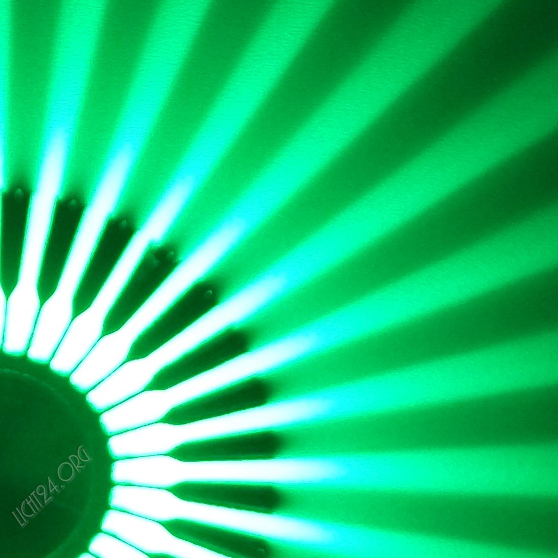 Led Wandstrahler Stripes : Details zu LED Wandstrahler STRIPES grün Wandleuchte DesignStrahle r