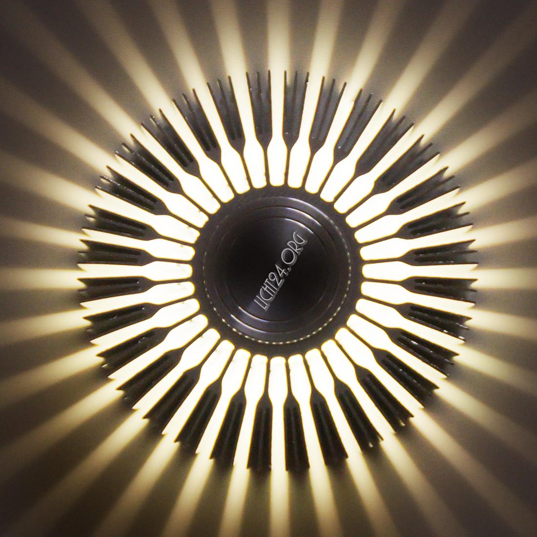 Led wandstrahler flurlampe weiss wandleuchte design for Badlampe design