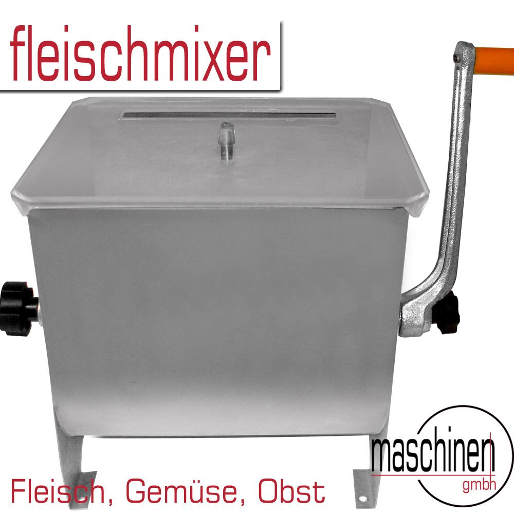 FLEISCHMISCHER Mischer Mixer auch für Obst Gemüse 15