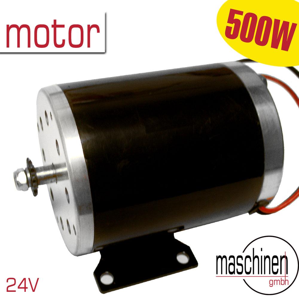 E Motor Gleichstrommotor Elektromotor E Motor G24v 500