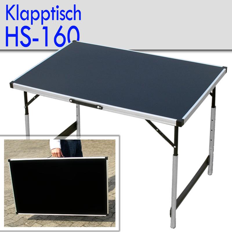 Klapptisch beistelltisch tapeziertisch campingtisch 1 m for Computertisch 1m breit